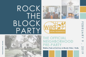 Rock the Block Pre-Party for Home Tour @ Walton Park