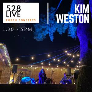 Saturday Porch Concerts in Willo: Kim Weston