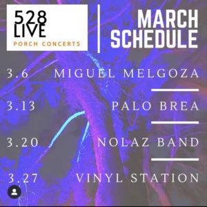 Saturday Porch Concerts in Willo: Miguel Melgoza